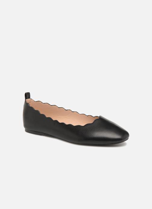 Ballerines I Love Shoes CAFESTON Noir vue détail/paire
