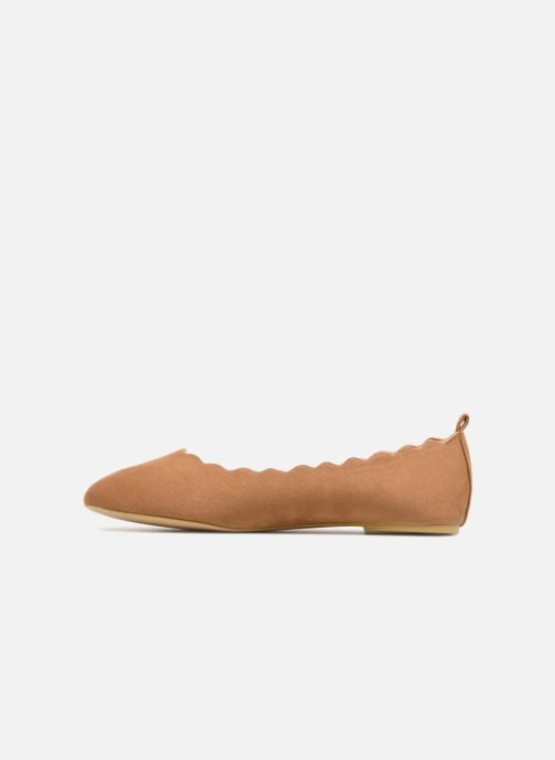 Ballerines I Love Shoes CAFESTON Marron vue face