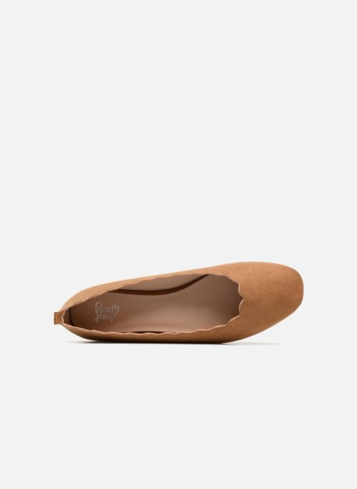 Ballerines I Love Shoes CAFESTON Marron vue gauche