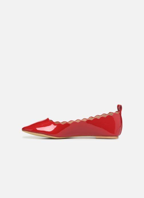 Bailarinas I Love Shoes CAFESTON Rojo vista de frente