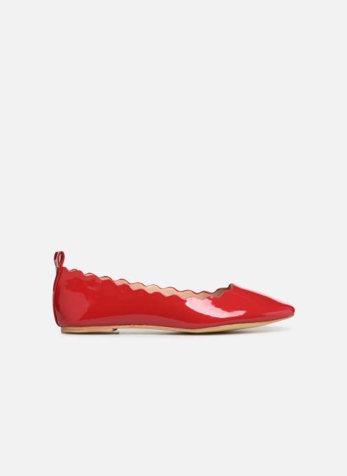 Ballerina's I Love Shoes CAFESTON Rood achterkant
