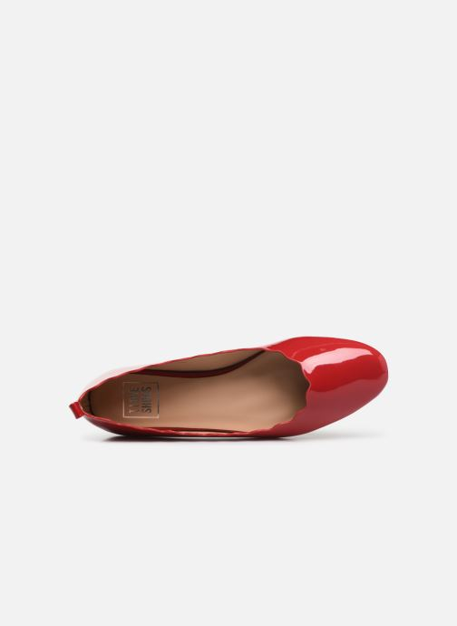 Ballet pumps I Love Shoes CAFESTON Red view from the left