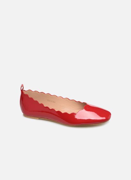 Ballerines I Love Shoes CAFESTON Rouge vue détail/paire