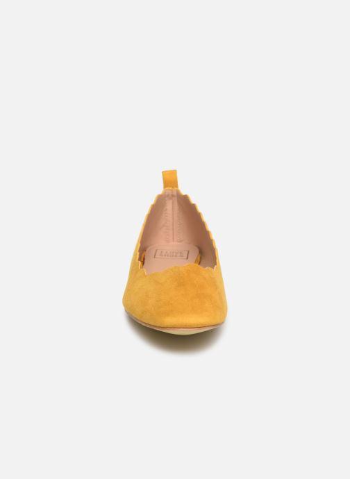 Ballerinas I Love Shoes CAFESTON gelb schuhe getragen
