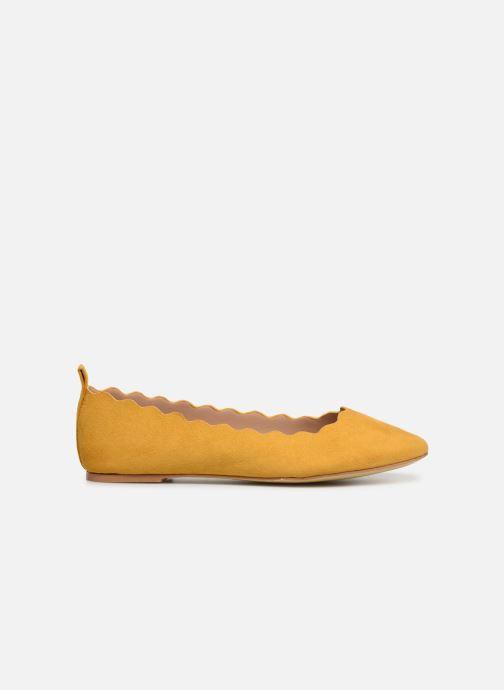 Ballerinas I Love Shoes CAFESTON gelb ansicht von hinten