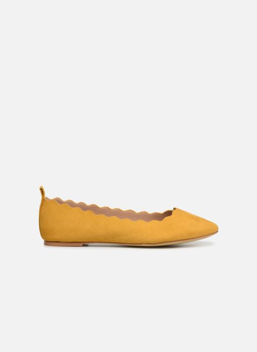 Ballerines I Love Shoes CAFESTON Jaune vue derrière