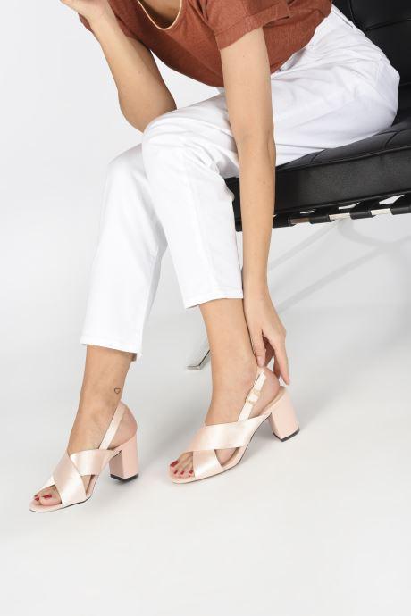 Sandales et nu-pieds I Love Shoes CALINO Rose vue bas / vue portée sac