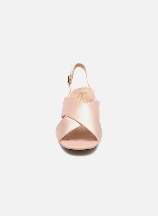 Sandales et nu-pieds I Love Shoes CALINO Rose vue portées chaussures