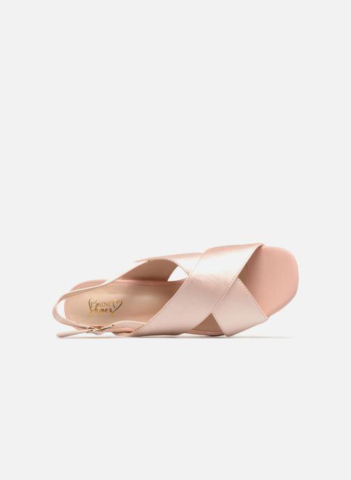 Sandales et nu-pieds I Love Shoes CALINO Rose vue gauche