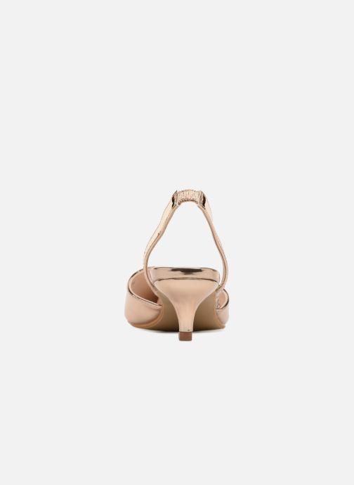 Escarpins I Love Shoes CALANE Or et bronze vue droite