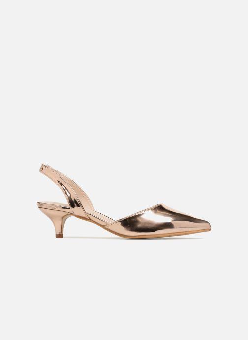 Escarpins I Love Shoes CALANE Or et bronze vue derrière