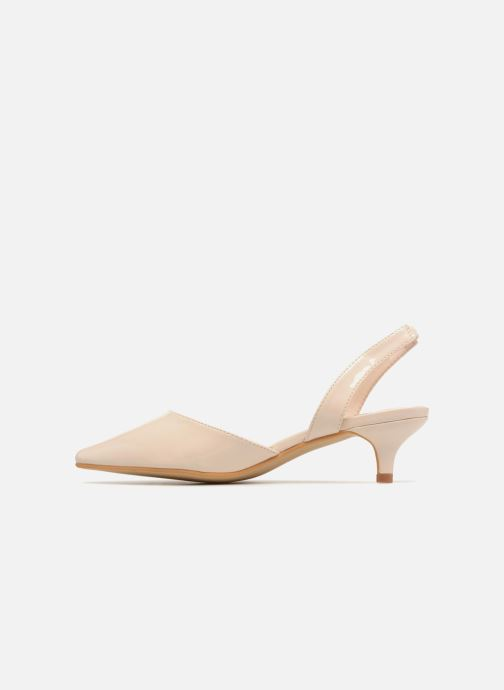 High heels I Love Shoes CALANE Beige front view