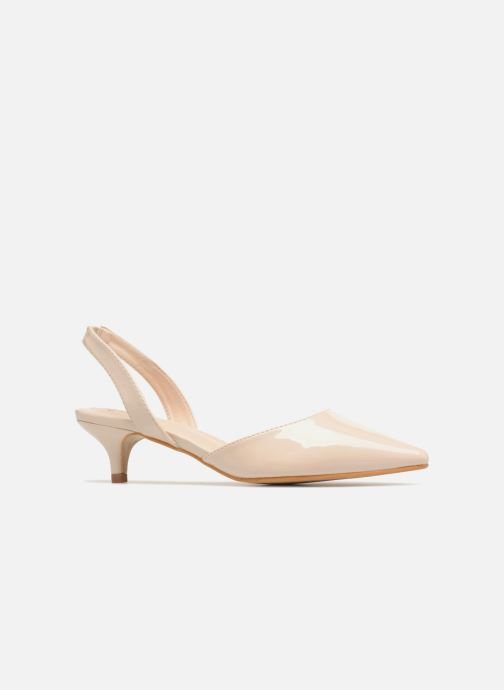High heels I Love Shoes CALANE Beige back view