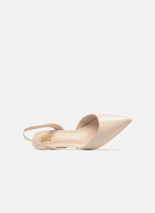 High heels I Love Shoes CALANE Beige view from the left