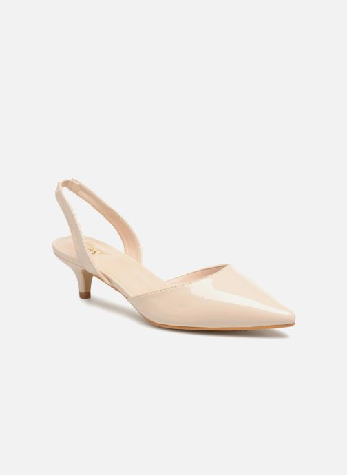 High heels I Love Shoes CALANE Beige detailed view/ Pair view