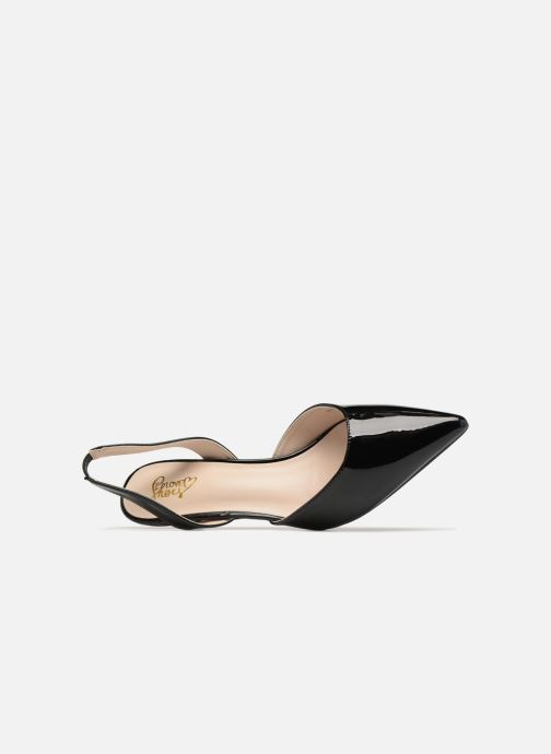 High heels I Love Shoes CALANE Black view from the left