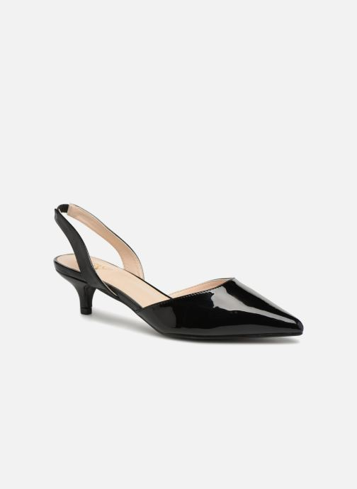High heels I Love Shoes CALANE Black detailed view/ Pair view