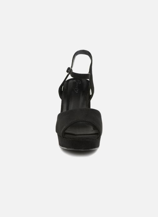 Sandales et nu-pieds I Love Shoes LAPAIX Noir vue portées chaussures