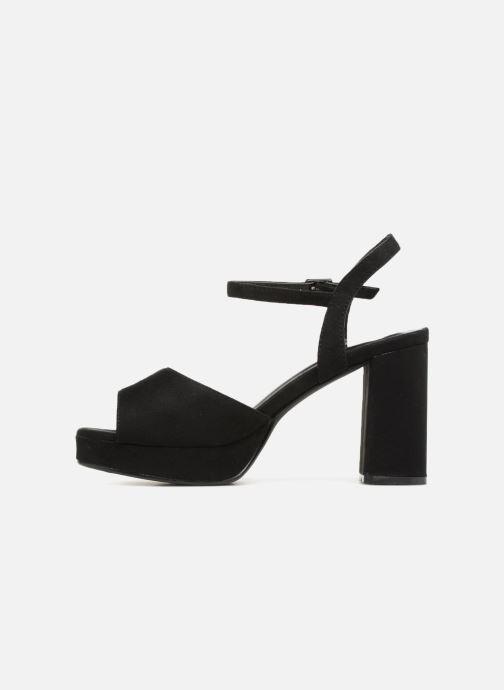Sandales et nu-pieds I Love Shoes LAPAIX Noir vue face