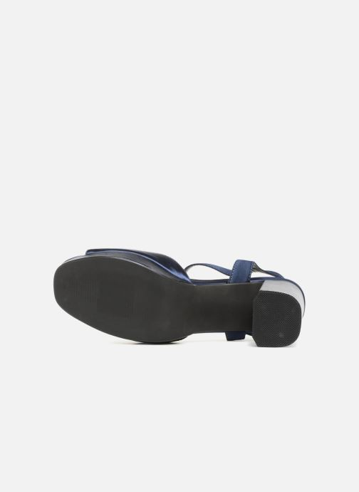 Sandales et nu-pieds I Love Shoes LAPAIX Bleu vue haut