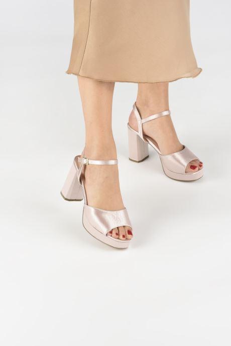 Sandalias I Love Shoes LAPAIX Rosa vista de abajo