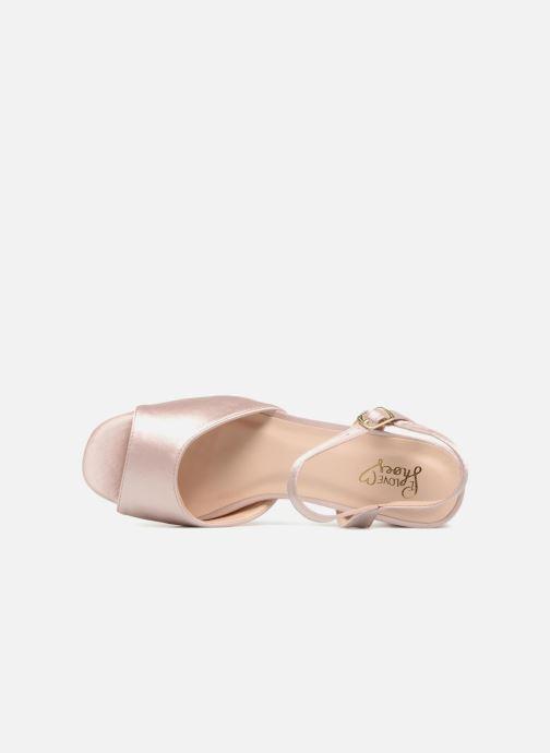 Sandalias I Love Shoes LAPAIX Rosa vista lateral izquierda
