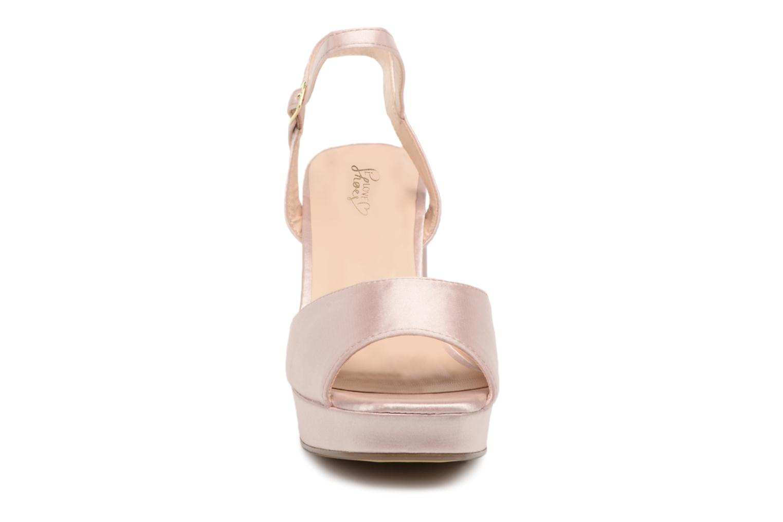 Sandales et nu-pieds I Love Shoes LAPAIX Rose vue portées chaussures