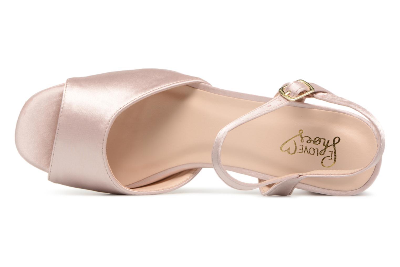 Sandales et nu-pieds I Love Shoes LAPAIX Rose vue gauche