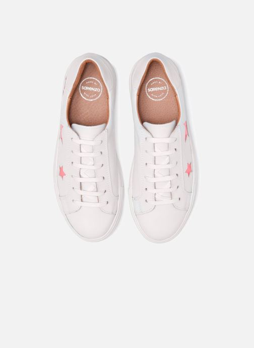 Sneakers Made by SARENZA 90's Girls Gang Baskets #1 Bianco modello indossato