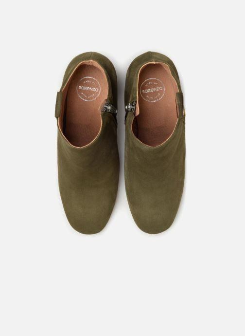 Bottines et boots Made by SARENZA 90's Girls Gang Boots #2 Vert vue portées chaussures