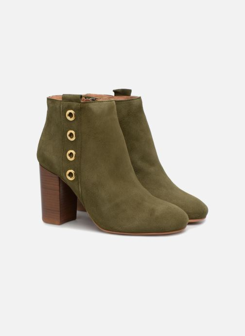 Botines  Made by SARENZA 90's Girls Gang Boots #2 Verde vistra trasera