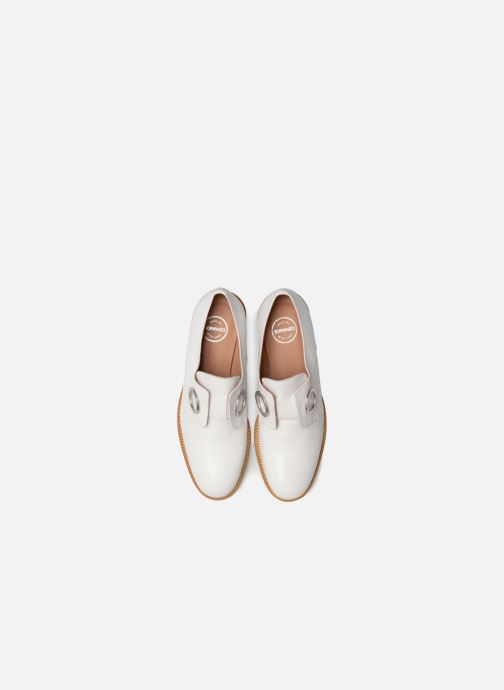 Gang Made Cuir Lisse 90's Blanc à Lacets2 Chaussures Girls Sarenza By tshCdrQ