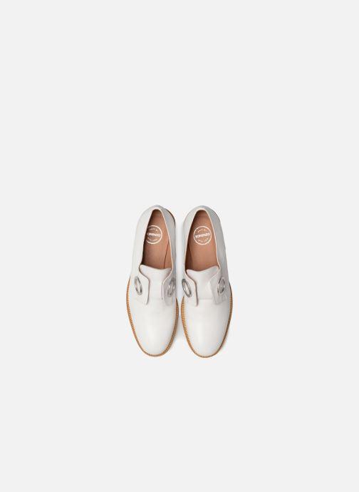 Mocassins Made by SARENZA 90's Girls Gang Chaussures à Lacets #2 Blanc vue portées chaussures