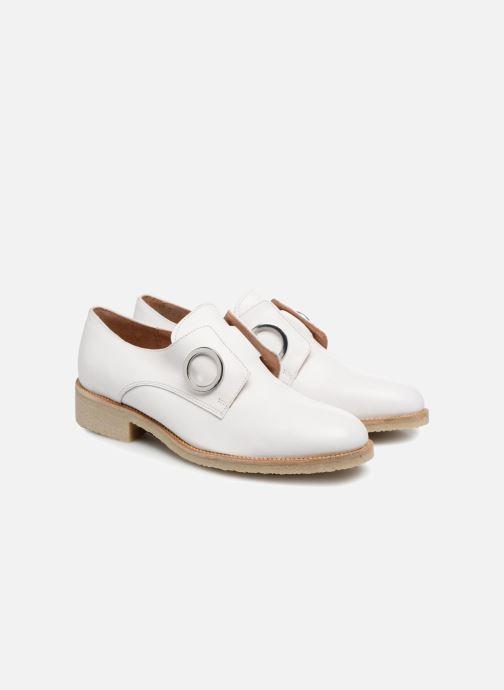 Mocassins Made by SARENZA 90's Girls Gang Chaussures à Lacets #2 Blanc vue derrière