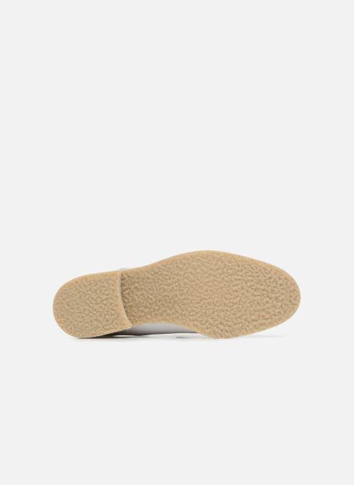 Mocassins Made by SARENZA 90's Girls Gang Chaussures à Lacets #2 Blanc vue haut
