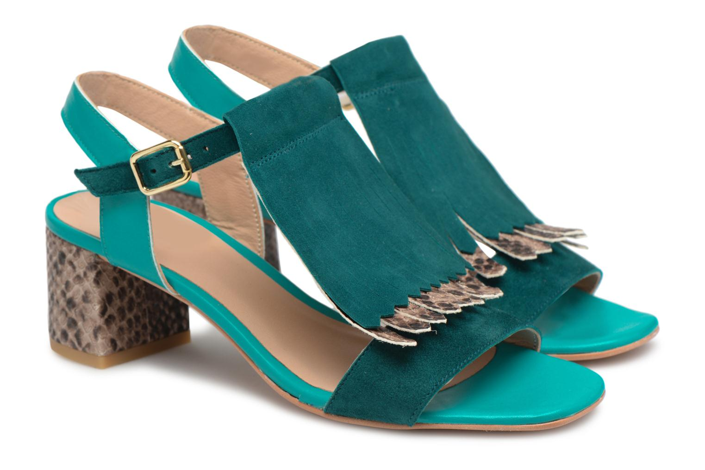 Made by SBRENZB Carioca Crew Sandales à Talons es #2 (grün) -Gutes Preis-Leistungs-Verhältnis, es Talons lohnt sich,Boutique-6894 32076a