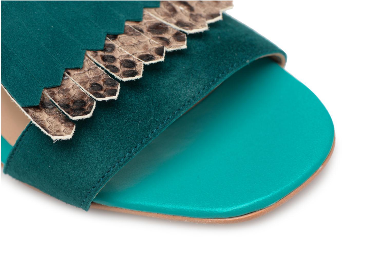 Sandales et nu-pieds Made by SARENZA Carioca Crew Sandales à Talons #2 Vert vue gauche