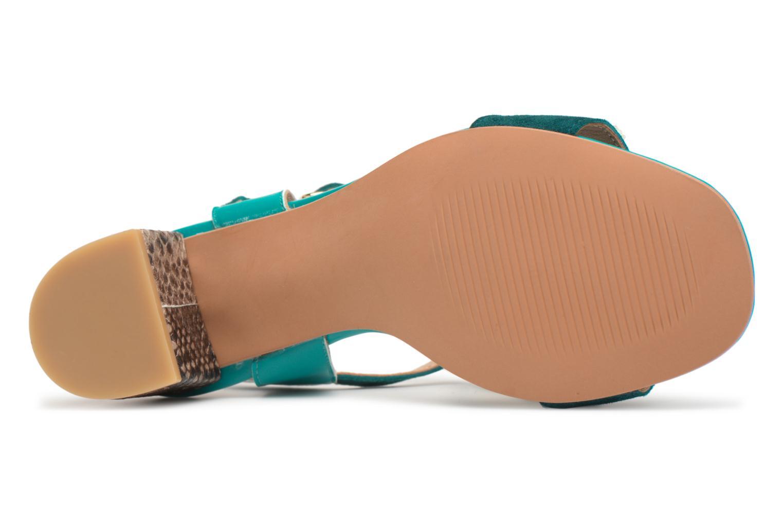 Sandales et nu-pieds Made by SARENZA Carioca Crew Sandales à Talons #2 Vert vue haut