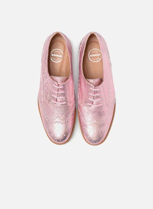 Scarpe con lacci Made by SARENZA 90's Girls Gang Chaussures à Lacets #4 Rosa modello indossato