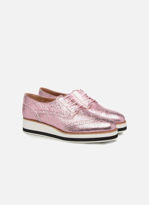 Schnürschuhe Made by SARENZA 90's Girls Gang Chaussures à Lacets #4 rosa ansicht von hinten