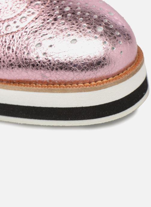 Schnürschuhe Made by SARENZA 90's Girls Gang Chaussures à Lacets #4 rosa ansicht von links
