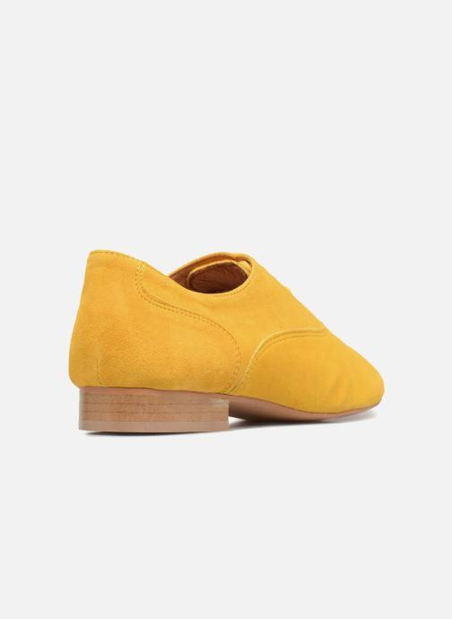 Schnürschuhe Made by SARENZA Carioca Crew Chaussures à Lacets #2 gelb ansicht von vorne