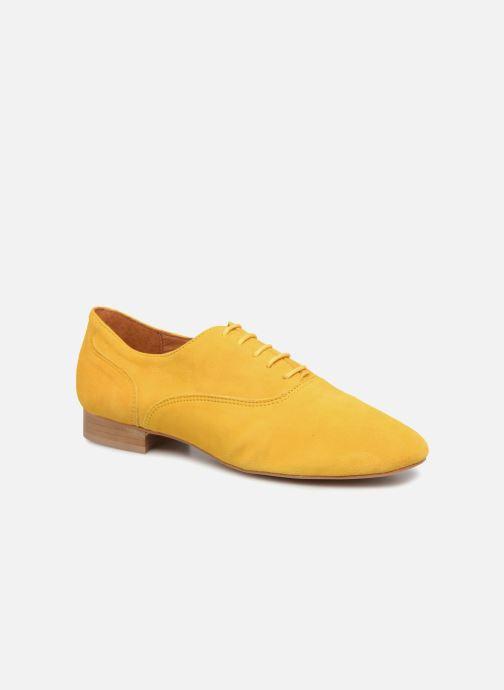 Schnürschuhe Made by SARENZA Carioca Crew Chaussures à Lacets #2 gelb ansicht von rechts