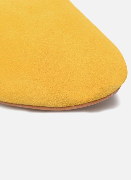 Schnürschuhe Made by SARENZA Carioca Crew Chaussures à Lacets #2 gelb ansicht von links