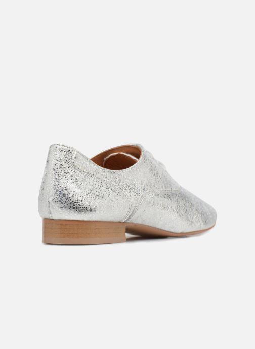 Schnürschuhe Made by SARENZA Carioca Crew Chaussures à Lacets #2 silber ansicht von vorne