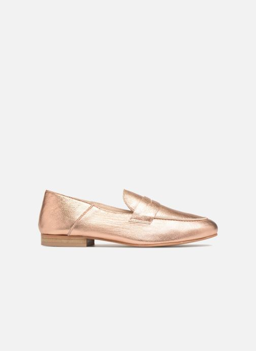 Loafers Made by SARENZA 90's Girls Gang Mocassins #2 Bronze and Gold detailed view/ Pair view