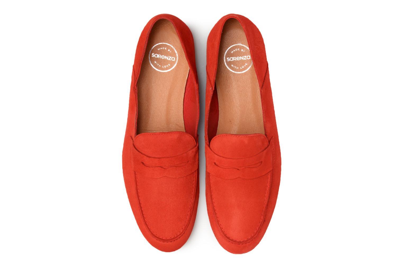 Mocassins Made by SARENZA 90's Girls Gang Mocassins #2 Rouge vue portées chaussures