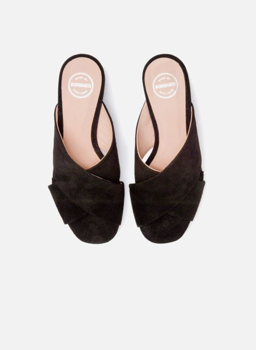 Clogs & Pantoletten Made by SARENZA UrbAfrican Mules #4 schwarz schuhe getragen