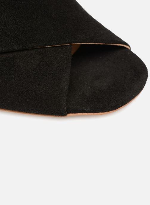 Clogs & Pantoletten Made by SARENZA UrbAfrican Mules #4 schwarz ansicht von links