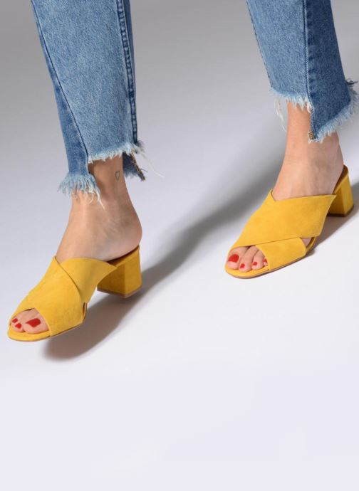 Chaussure Femme Grande Remise Made by SARENZA UrbAfrican Mules #4 Jaune Mules et sabots 316506